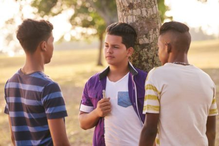 Latino teens e-cigs vaping smoking tobacco 21
